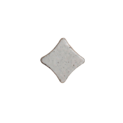 Estrella 6x4,5x1,5 blanco esmaltado