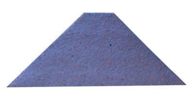 cenefa Trapecio de gres rústico antideslizante