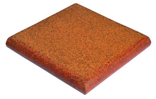 peldaño fiorentino angular de gres rústico natural para exteriores antideslizante y resistente al hielo