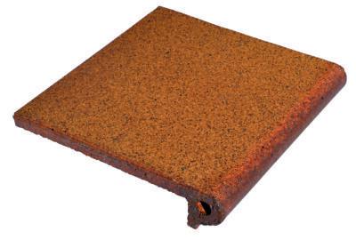 peldaño fiorentino de gres rústico natural para exteriores antideslizante y resistente al hielo
