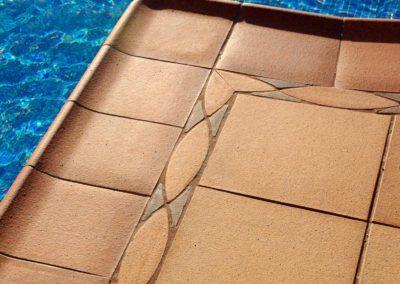 Ceràmica per a platges de piscina